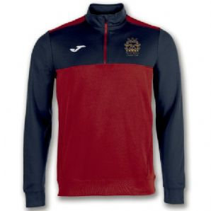 North Kildare Cricket Club Winner Quarter Zip Red/Navy - Youth  2018